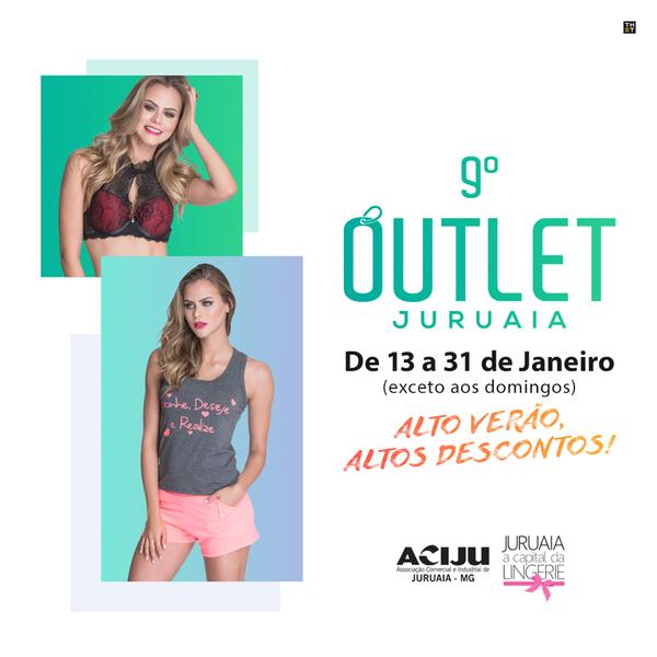 8f8b8302a 9 Outlet - Evento com promoções e descontos nas lojas de lingerie de  Juruaia-MG
